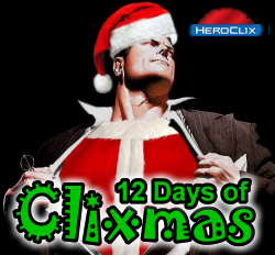 HeroClix 12 Days of Clixmas Scenario