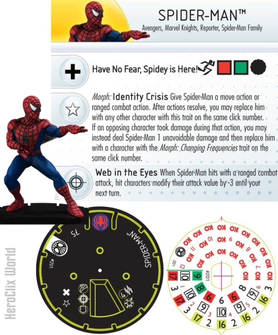HeroClix Spider-Man Gravity Feed