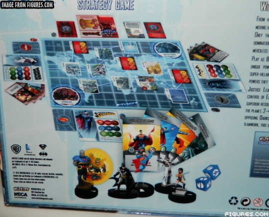 HeroClix Justice League Strategy Game