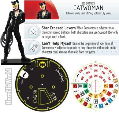 HeroClix Catwoman Gravity Feed