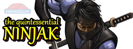 The Quintessential Ninjak HeroClix